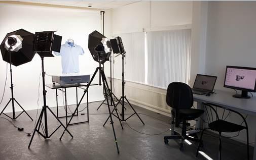 professional photo studio for e-commerce purposes
