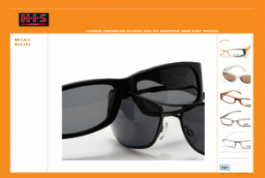 eyewear & lenses product photographer