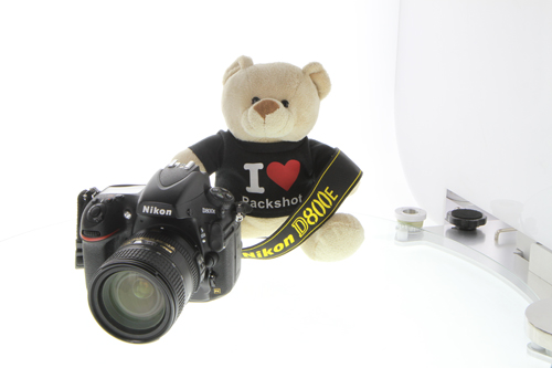 Nikon REFLEX compatibility with PackshotCreator