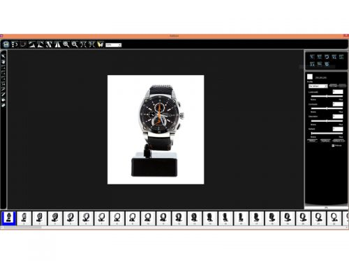Packshot Creator sofware viewer