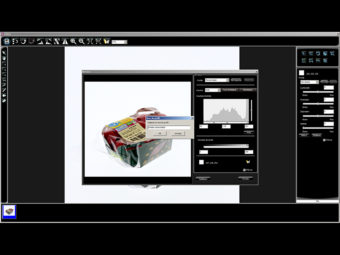 Packshot photo software live view