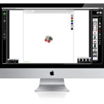 How to crop an object on a white background