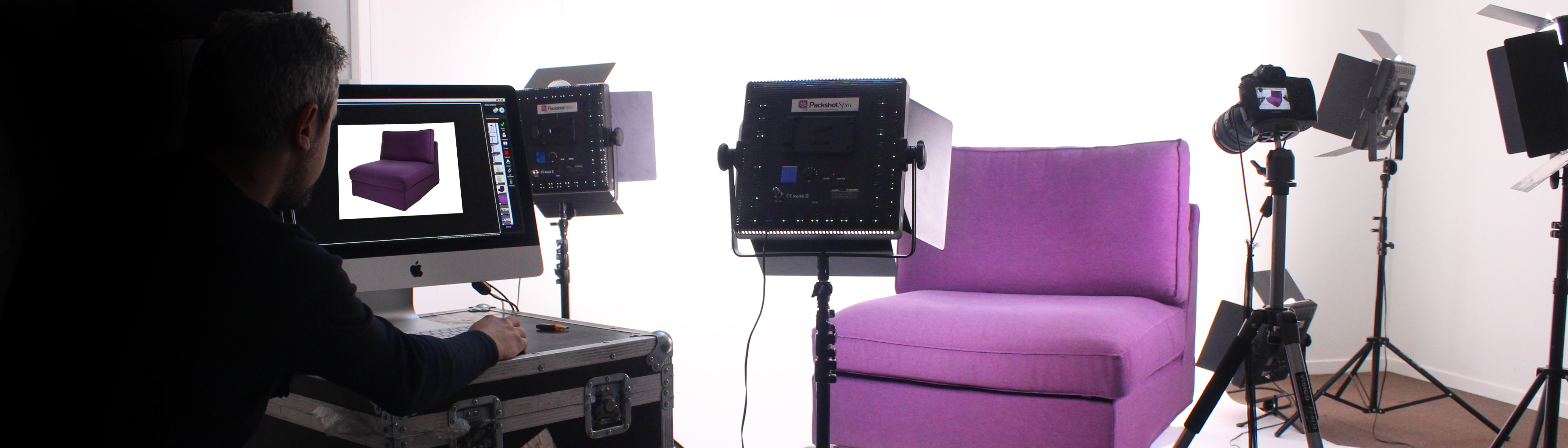 Furniture photoshoot : products studio photographer