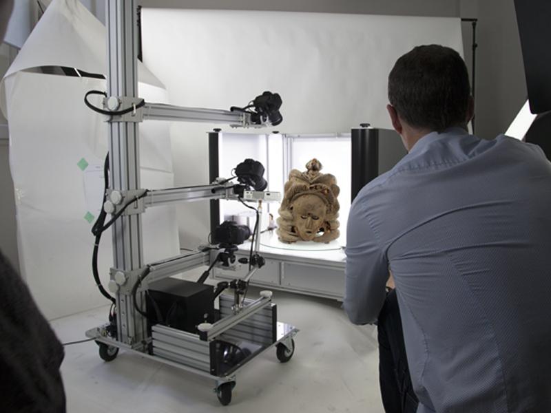 technologie 3D prise de vue de produits packshot