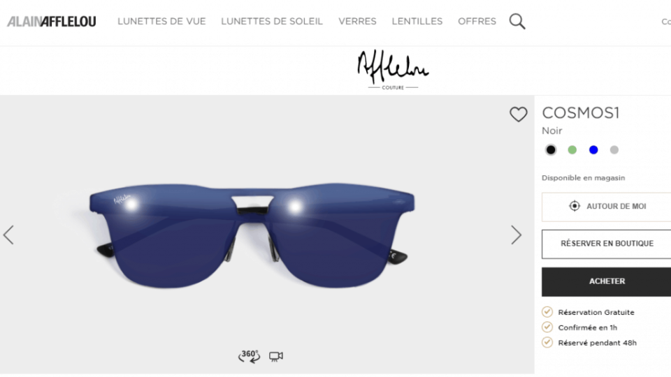 photograph sunglasses and glasses for online stores