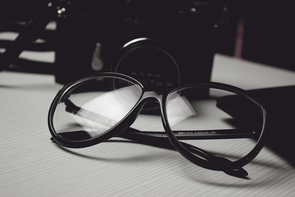 eyewear product shoots