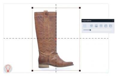 set photo e-commerce