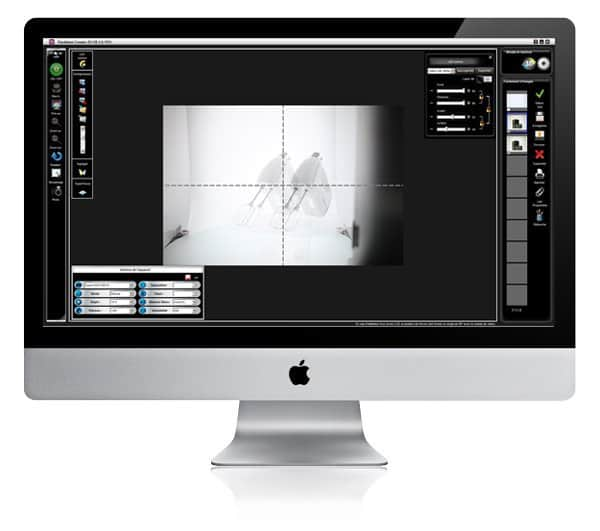 how to edit photographs on a PackshotCreator software