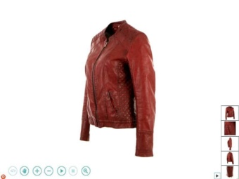 360 animation of fashion clothing on online stores