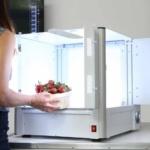 Compact packshot automated photo studio