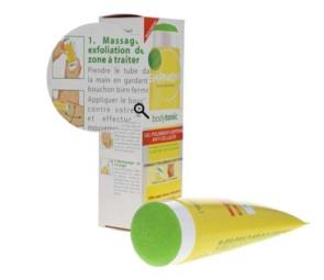 photo packshot ingredients cosmetics with zoom