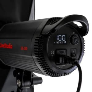 système d'éclairage studio LED modulable par logiciel