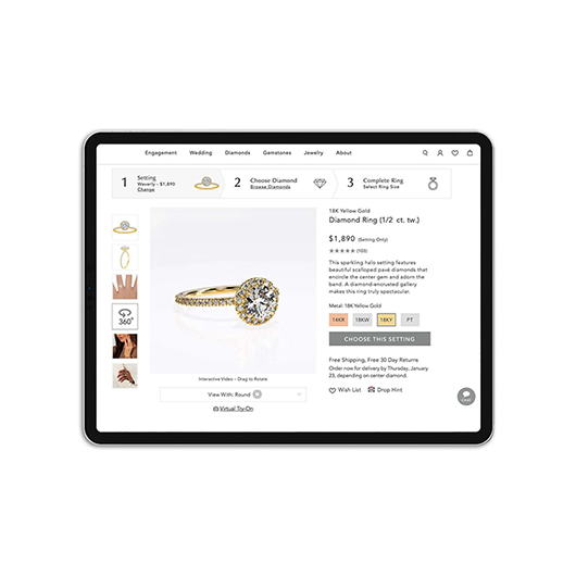 photography jewelry for ecommerce
